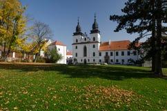 Замок Trebic, чехия стоковая фотография rf
