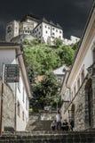 Замок Trencin, Словакия Стоковое Изображение