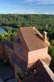 Замок Turaida Стоковое Изображение RF