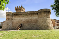 Замок Urbisaglia Стоковые Фотографии RF