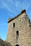Замок Urquhart - башня Стоковое Изображение