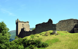 Замок Urquhart - Лох-Несс Стоковое Изображение