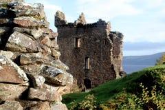 Замок Urquhart, Шотландия Стоковое фото RF