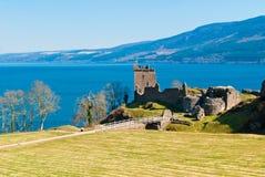 Замок Urquhart стоковые фотографии rf