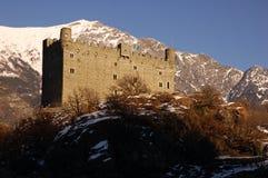 Замок Ussel Стоковое фото RF