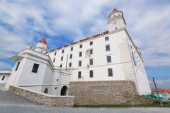 Замок v Братиславы Стоковые Изображения