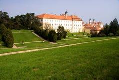 Замок Valtice, южная Моравия, чехия Стоковое фото RF