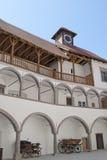 Замок Veliki Tabor внутри взгляда Стоковое фото RF