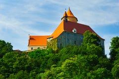 Замок Veveri Стоковая Фотография RF