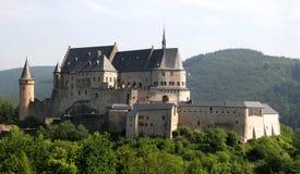 замок vianden Стоковое фото RF
