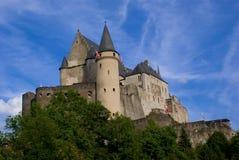 замок vianden Стоковые Фото