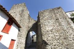 Замок Vinhais средневековый готический Стоковая Фотография RF