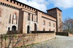 Замок Visconteo стоковая фотография rf