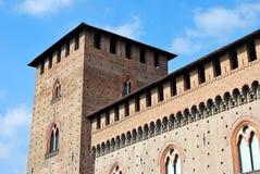 Замок Visconteo стоковое изображение