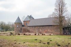 Замок Vondern - Оберхаузен - Германия стоковое изображение rf