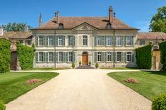 Замок Vullierens, Vullierens, Швейцария стоковые фото