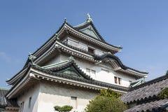 Замок Wakayama - Япония стоковые изображения rf