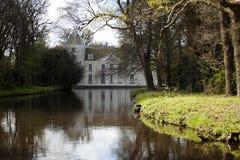 Замок Warmond, Нидерланды Стоковое фото RF