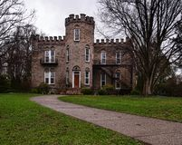 Замок Warner, Rochester, Нью-Йорк стоковое изображение rf