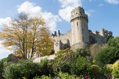 Замок Warwick и башня цезаря Стоковое Фото