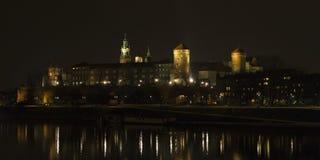 Замок Wawel королевский в Польша Стоковые Изображения RF