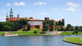 Замок Wawel. Краков, Польша Стоковые Фото