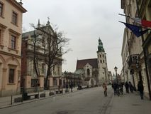 Замок Wawel, Польша, Cracow Стоковые Фотографии RF