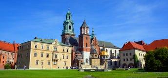 Замок Wawel Стоковая Фотография RF