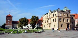 Замок Wawel Стоковое Изображение