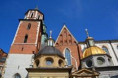 Замок Wawel Стоковое Изображение RF