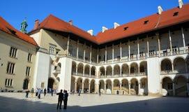 Замок Wawel Стоковая Фотография