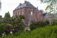 Замок Wissen воды, Германия Стоковое Фото