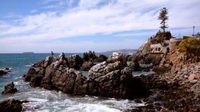 Замок Wulff, Vina Del Mar, Чили стоковое фото