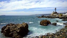 Замок Wulff, Vina Del Mar, Чили стоковое изображение rf