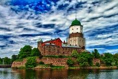 Замок Wyborg (фото HDR) Стоковые Изображения RF