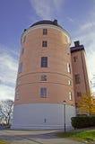 Замок XVI века Уппсалы в осени Стоковое Изображение RF