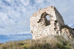 Замок zabalate стоковая фотография