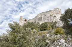 Замок Zabalate - Portilla Стоковое Изображение