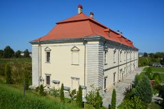 Замок Zolochiv Стоковое фото RF