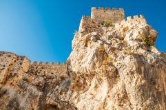 замок zuheros стоковое изображение rf