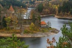 Замок Zvikov в чехии Стоковое фото RF