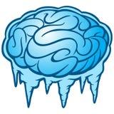 Замораживание мозга иллюстрация штока