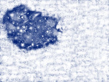 замораживание предпосылки иллюстрация штока