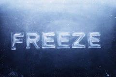 замораживание Стоковые Изображения RF