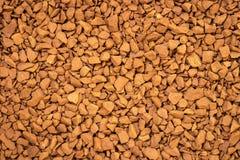 Замораживание Arabica - высушенная предпосылка растворимого кофе стоковое изображение rf