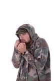 Замораживания солдата Стоковые Фото