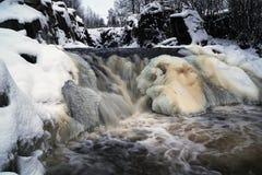 Замораживать реку стоковые фото