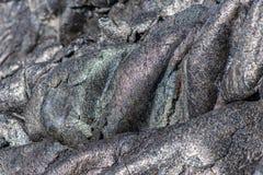 замороженная лава Стоковое Изображение