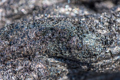 замороженная лава Стоковые Изображения