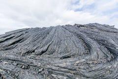 замороженная лава Стоковые Фото